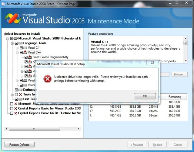 how to compile in visual studio 2008